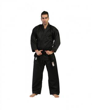 عکس لباس کاراته مشکی تورنادو بزرگسال1