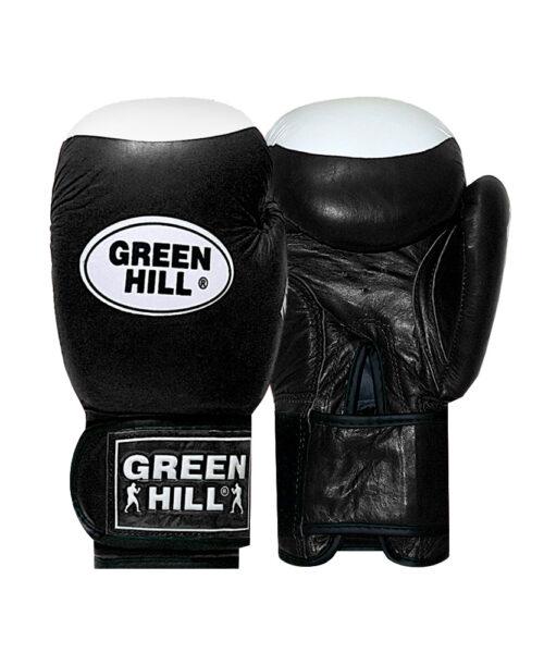 دستکش بوکس چرم Green Hill