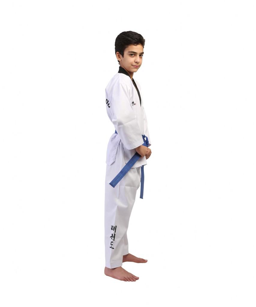 لباس تکواندو طرح کبریتی Savrina نوجوان