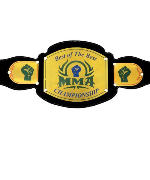 کمربند قهرمانی برنجی MMA طرح C