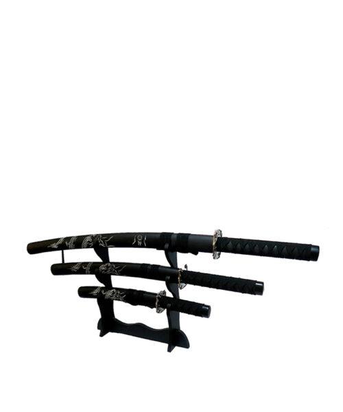 ست شمشیر دکوری فلزی