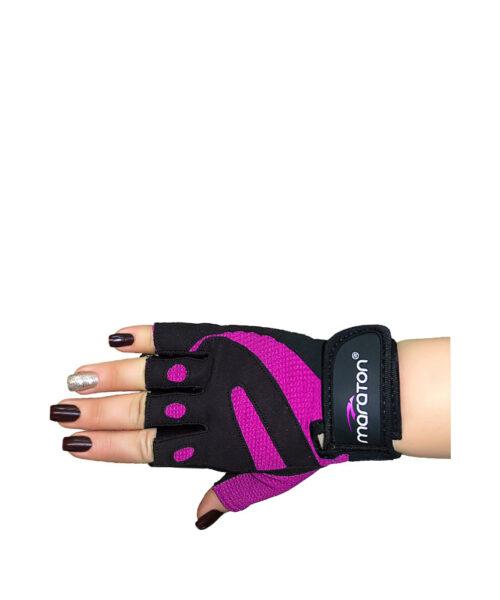 دستکش بدنسازی maraton مدل PURPLE
