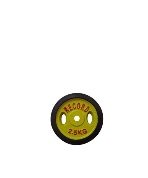 صفحه هالتر دور لاستیک خانگی (سوراخ 30 میل)