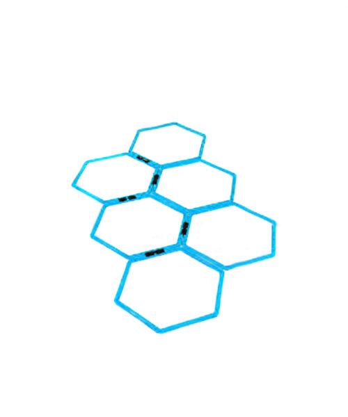 حلقه چابکی شش ضلعی Liveup