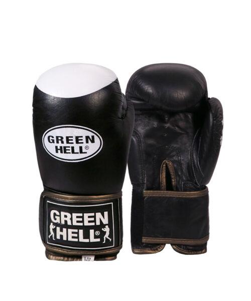 دستکش بوکس نوجوان چرم Green Hell