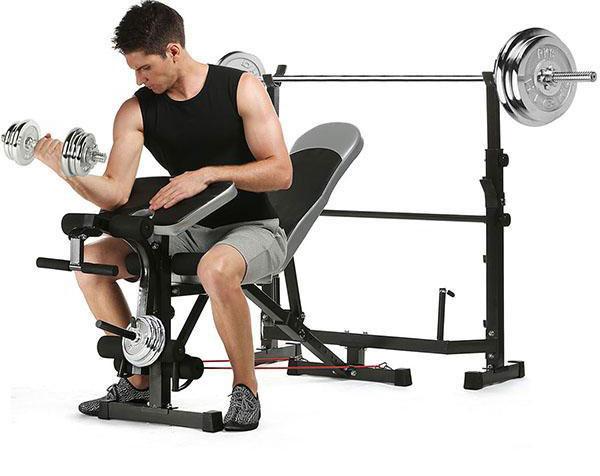 Bench-Multi-gym میز بدنسازی چند کاره
