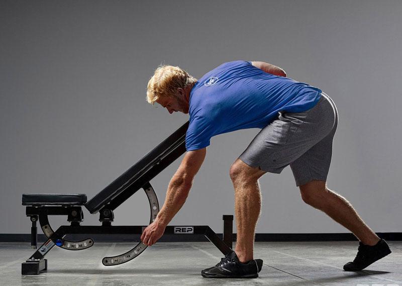 adjustable bench نیمکت بدنسازی مدرج