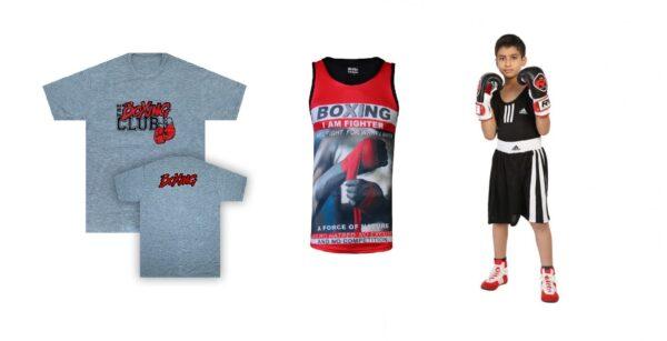 خرید لباس بوکس و MMA - شورت، رکابی، رش گارد و لگ